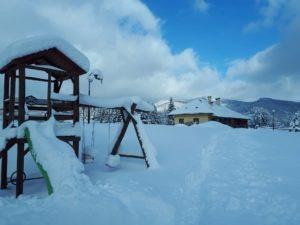 winter at Agroturystyka TRAMP